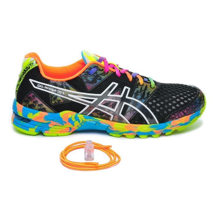 asics running femme multicolore