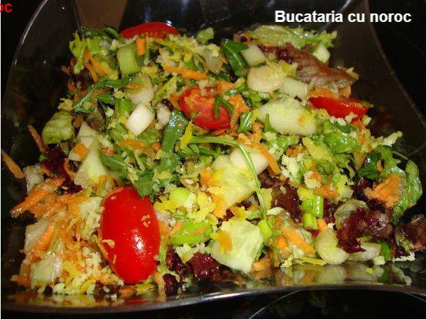 Bucataria cu noroc - Salata Pandesia