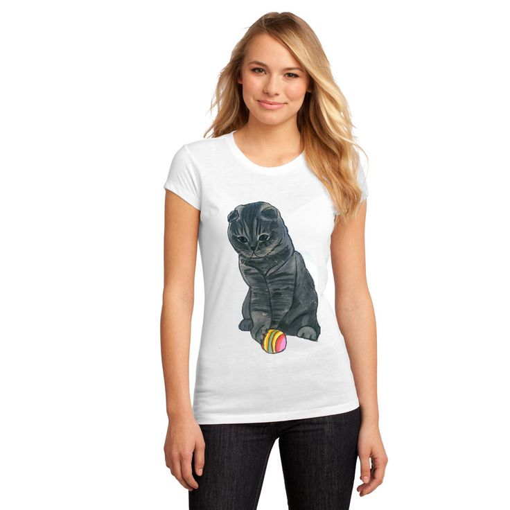 Cat  T-shirt painted with his face, so called the order for which I was going to paint lovingly #paint4happiness #handmade #handmade4u #tshirt #woman #Gift #handmade #painted #wishes #painted #t-shirts #personalized #women #jersey #paint #shirt