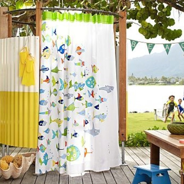 151 Best Beach Bath Images On Pinterest: 34 Best Images About Santa Cruz Beach House Outdoor Beach