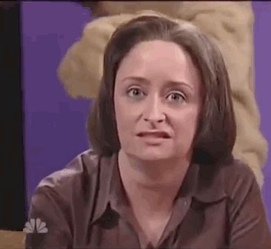 And Rachel Dratch basically gave up: | This Supercut Of SNL Actors Breaking Character Is Amazing