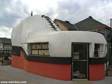 Big Shoe Repair, Bakersfield, Californie, USA
