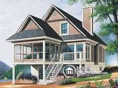 Plan de maison no. W6901 de dessinsdrummond.com