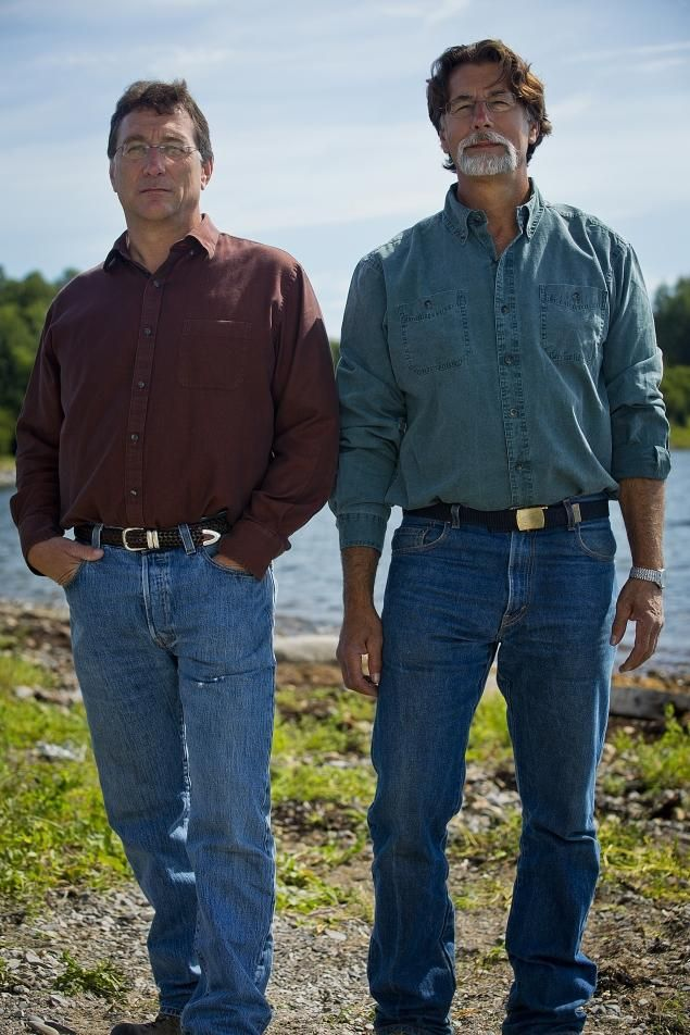 "Rick and Marty Lagina seek buried treasure in the History channel's ""The Curse of Oak Island."""