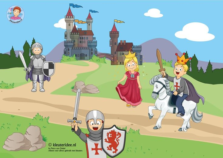 thema: ridders en kastelen