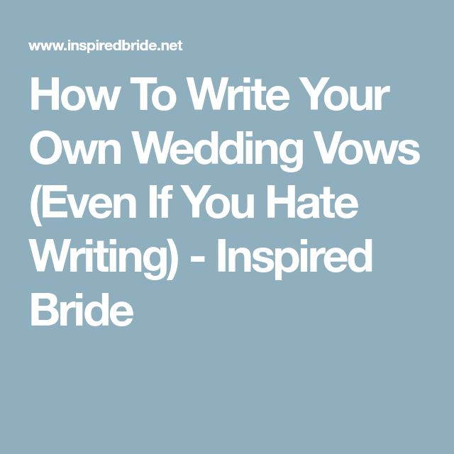 Best 25+ Simple Wedding Vows Ideas On Pinterest