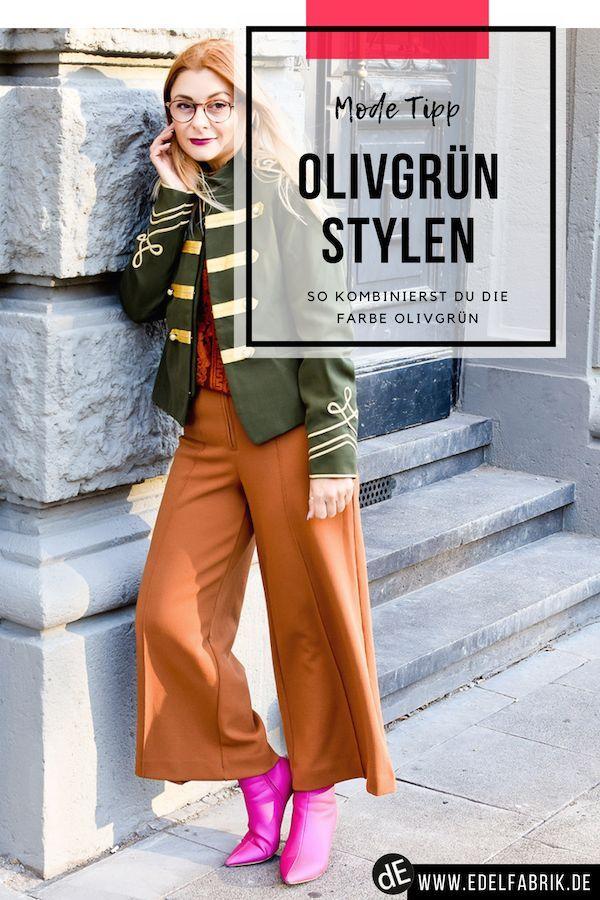So Kombinierst Du Olivgrun Was Passt Zu Oliv Grun Look Olivgrune Hosen Outfit Inspo Outfit