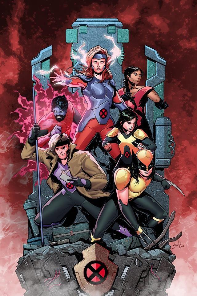 X Men Red By Sachi Ediriweera Colors By Stefani Rennee Xmen Comics Marvel Comics Art X Men Best x men wallpapers