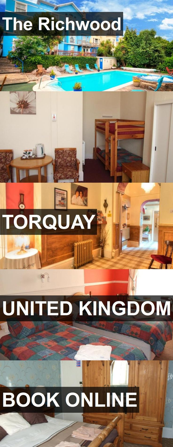Hotel The Richwood in Torquay, United Kingdom. For more information, photos, reviews and best prices please follow the link. #UnitedKingdom #Torquay #travel #vacation #hotel