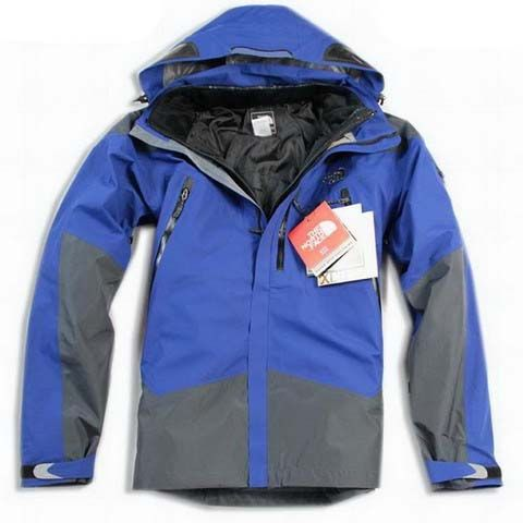 North Face Triclimate Jacket Clearance Men Blue T084