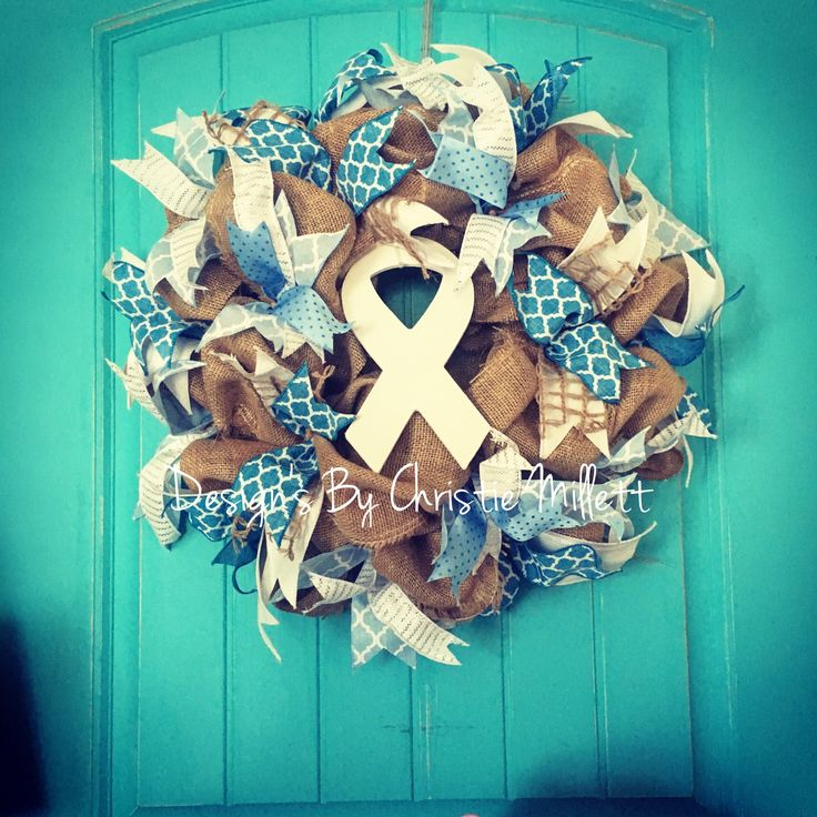 Lung Cancer / Hope Wreath