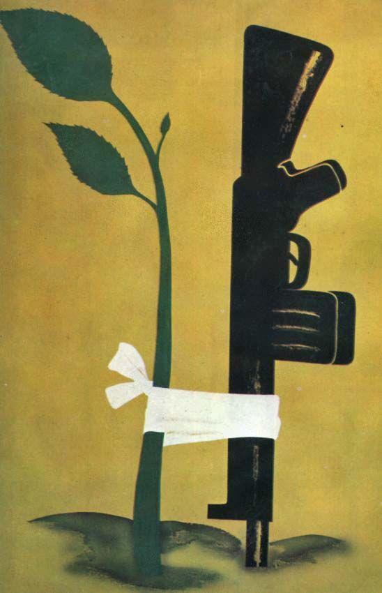 Лозунги и плакаты:Брежневская эпоха- За мир -2