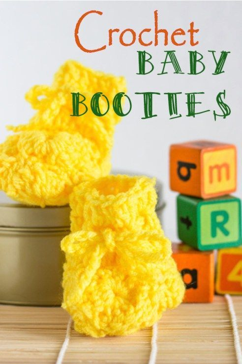 crochet baby booties free pattern. Crocheted booties, baby shoes