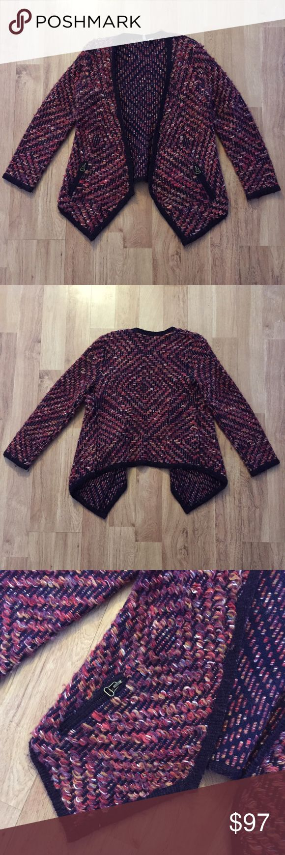 Anthropologie Brand Multicolor Cardigan Size M Anthropologie Brand called Moth. ⚜️I love receiving offers through the offer button!⚜️ Great condition, as seen in pictures! Fast same or next day shipping!📨 Open to offers but I don't negotiate in the comments so please use the offer button😊 Anthropologie Sweaters Cardigans
