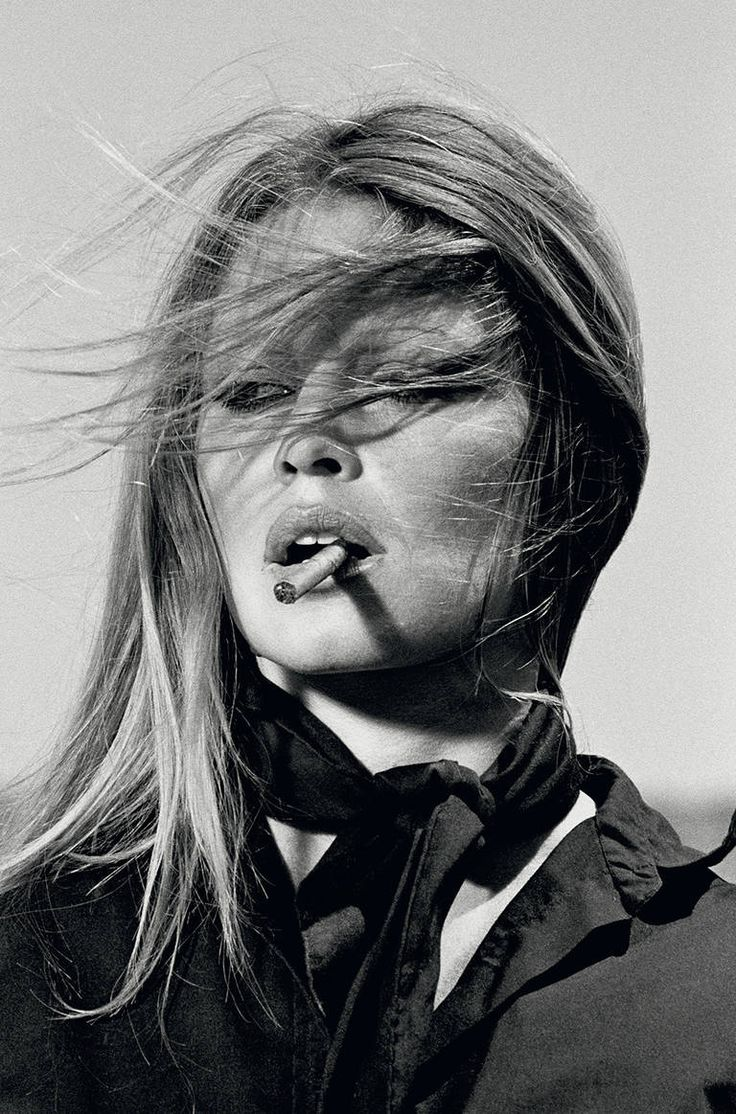 BRIGITTE BARDOT (Cigar) Signed By Terry and Brigitte | From a unique collection of portrait photography at https://www.1stdibs.com/art/photography/portrait-photography/