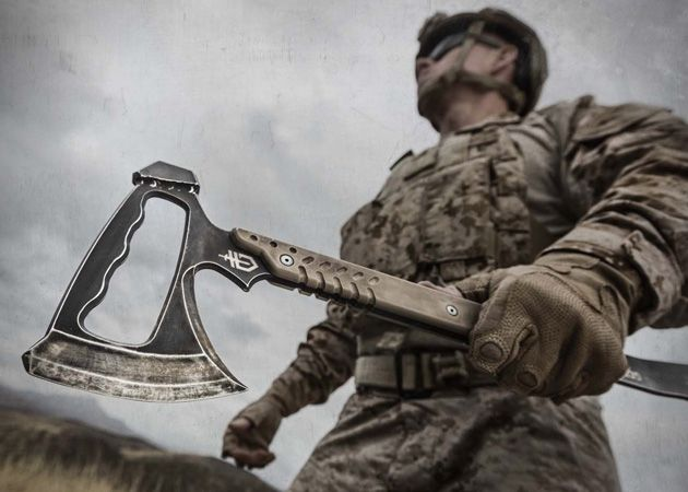 Gerber Introduces Awesome Tomahawk Multi Tool