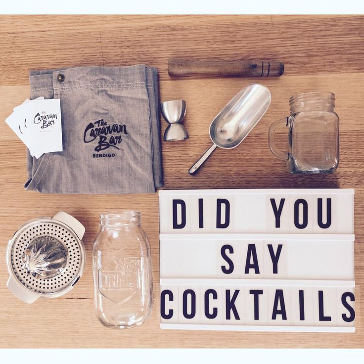 We do like to whip up a cocktail @ The Caravan Bar. Signature cocktails are our fav!
