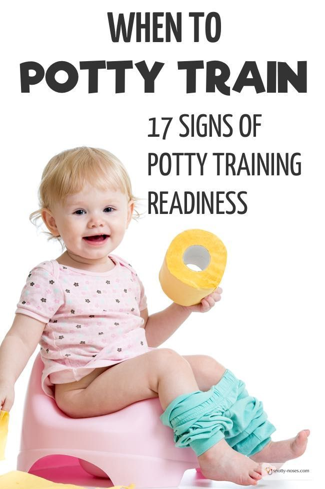When to Potty Train. 17 Signs of Potty Training Readiness