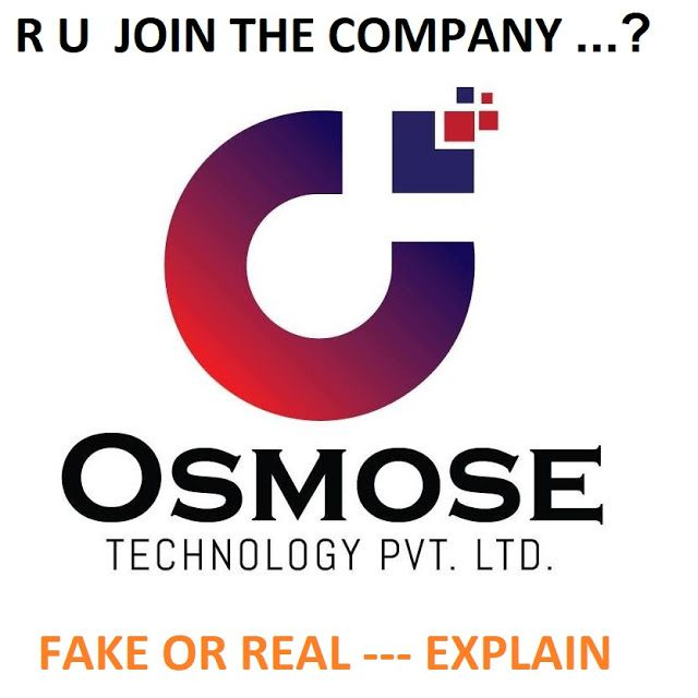 Osmose Technology Fake Or Real In Hindi À¤• À¤ªà¤¨ À¤œ À¤‡à¤¨ À¤•à¤° À¤¯ À¤¨à¤¹ In 2020 Technology Real Online Earning