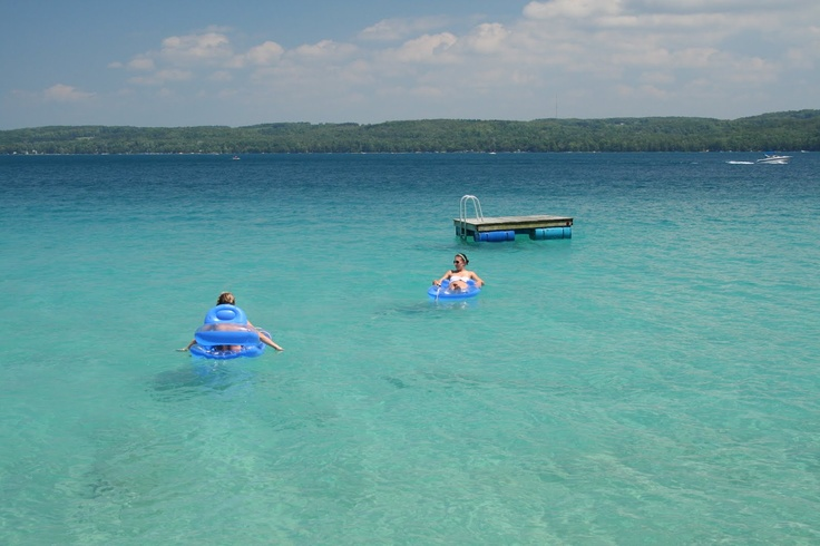 Torch Lake, MI..a taste of the Caribbean in the US! I