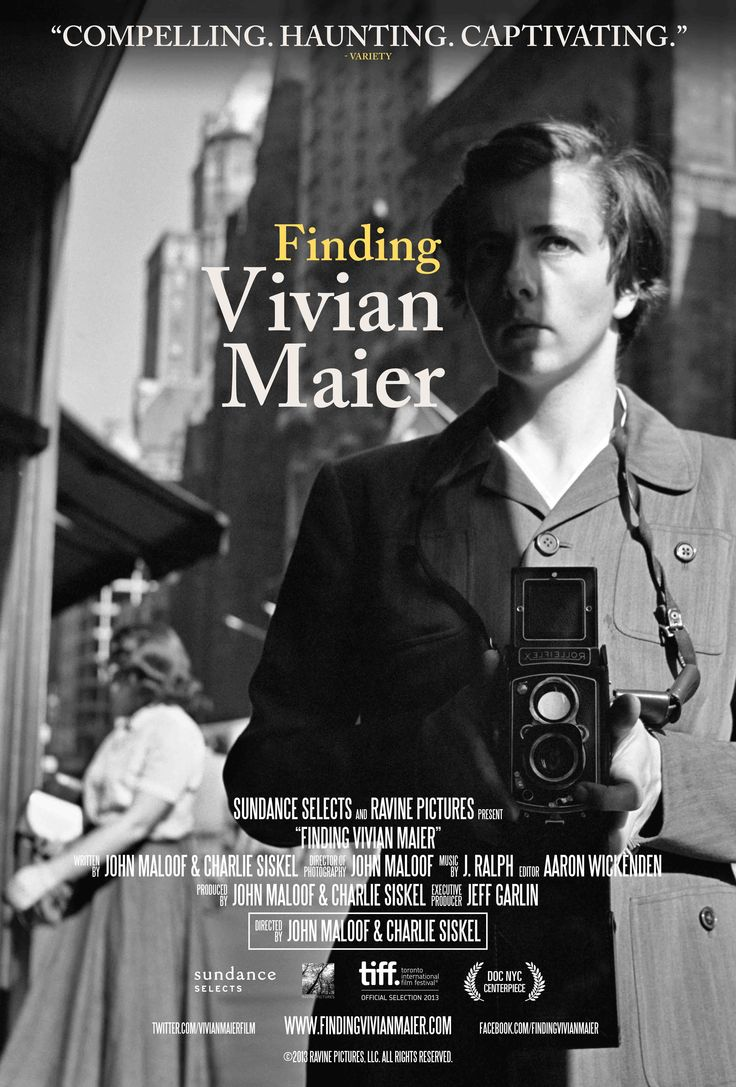 Finding Vivian Maier by John Maloof and Charlie Siskel https://www.youtube.com/watch?v=er8-Vq__cRE