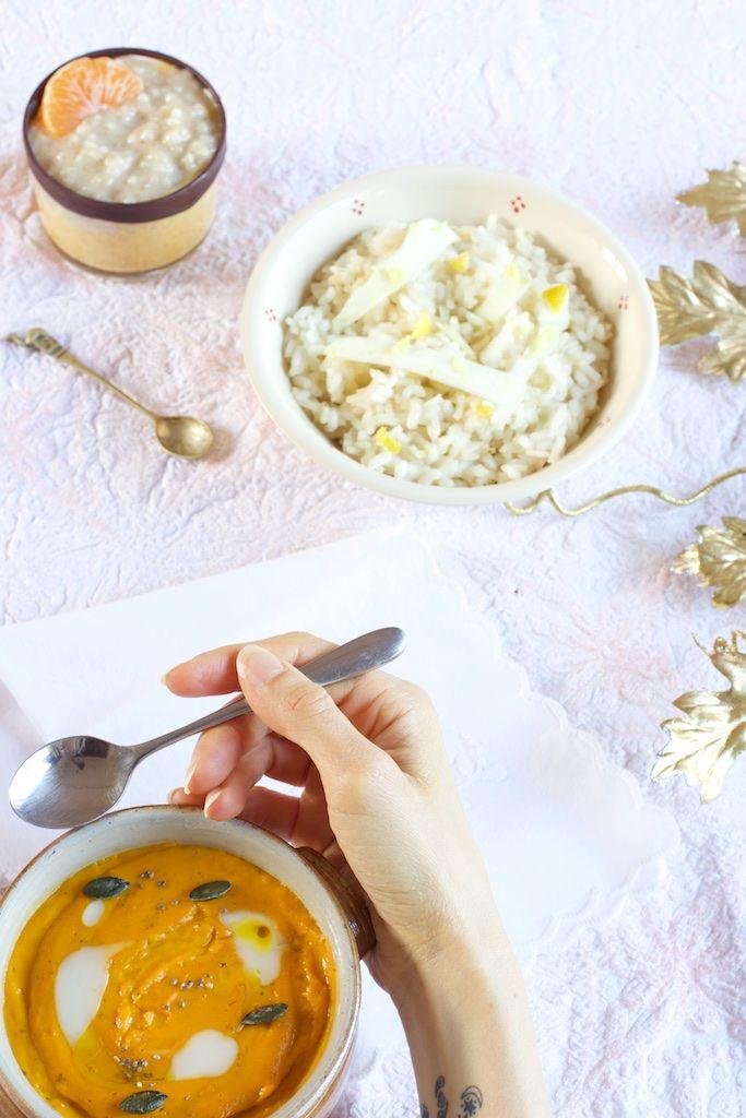 Mousseline orangé & délicatement épicée // Menu de Noël Pastel pour personnes ayant les intestins sensibles (colopathie fonctionnelle, maladie de Crohn, etc.) : low FODMAP