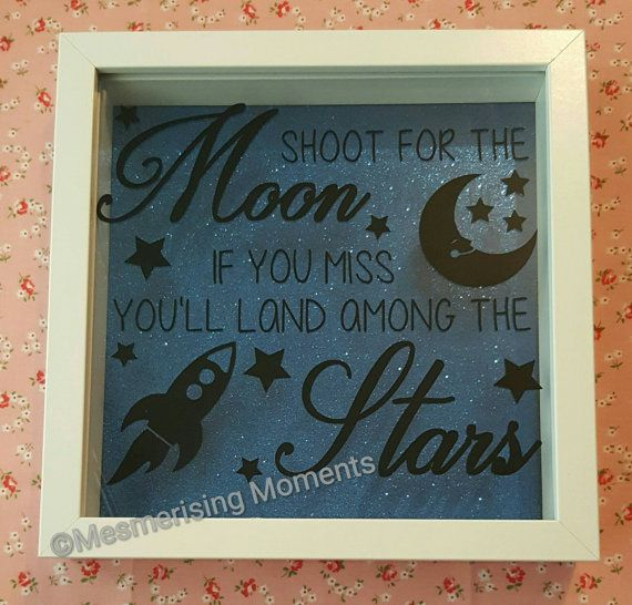 Shoot for the moon if you miss youll land among the stars baby, child, achievement box frame https://www.etsy.com/uk/listing/292265533/shoot-for-the-moon-if-you-miss-youll