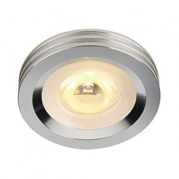 LED Aluminium Downlight, gross, LED warmweiss, 3W / LED24-LED Shop