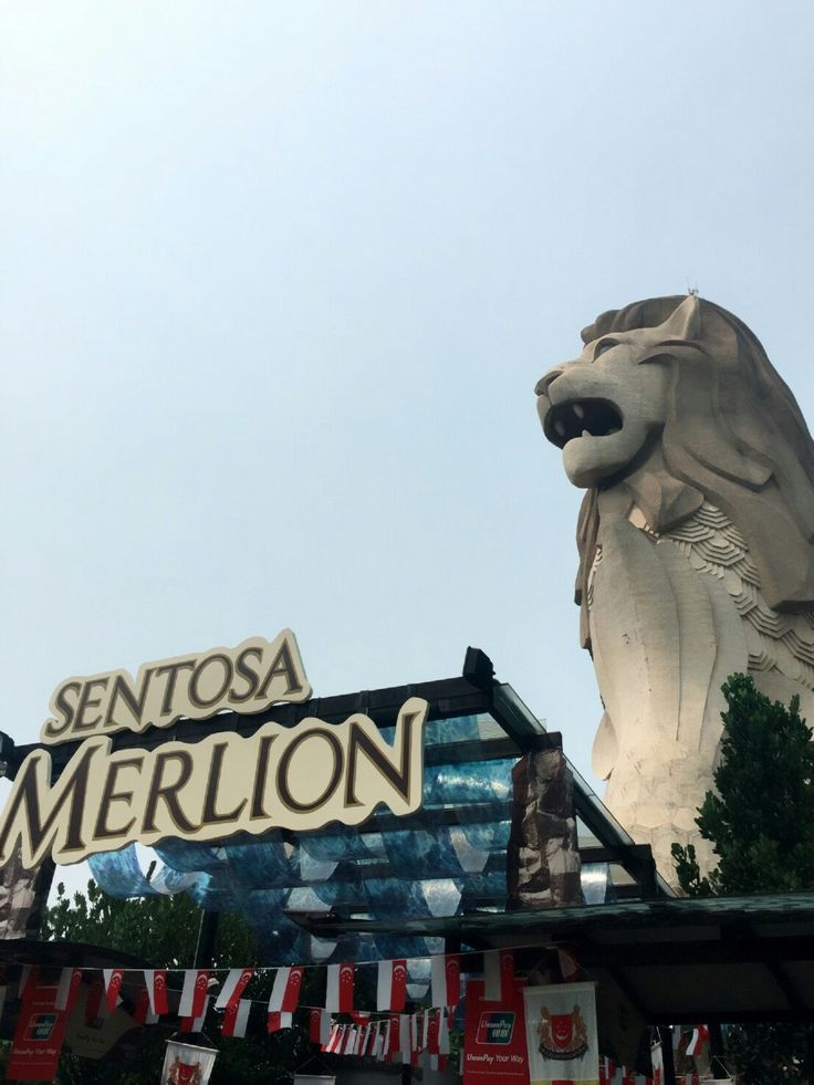 Love the amazing story of Merlion