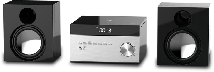 Stereo System With Remote Control For Home CD Player AM/FM Tuner Xmas Gift #GPX