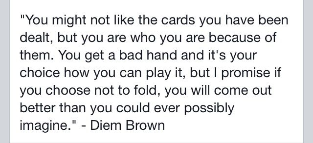 RIP diem brown you are my inspiration live life the fullest because it can end in the matter of 3 seconds