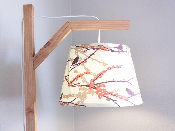 Diy nature inspired floor lamp courtesy of ana white