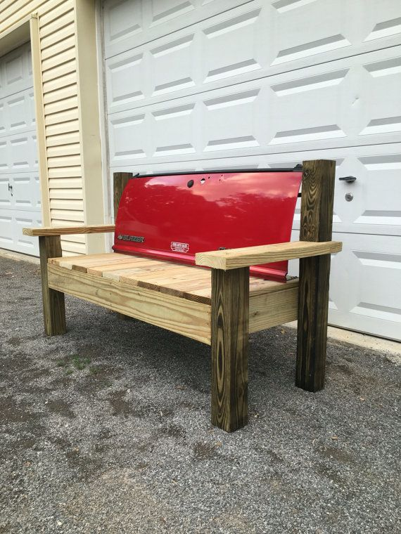 Chevrolet / Chevy Blazer Truck Tailgate Bench handmade