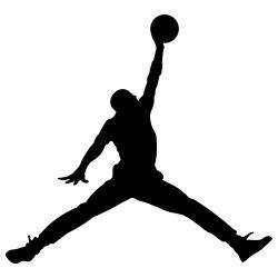 The Jumpman Air Jordan Logo use by Nike - Designed in 1985