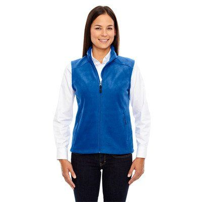 His And Hers Custom Logo Embroidered Core 365 Polo Shirts Vests At Ez Corporate
