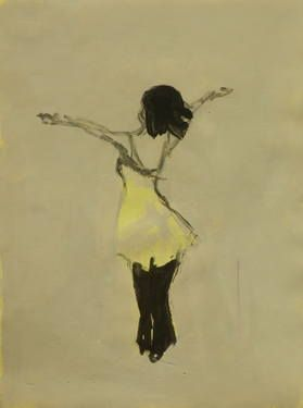 "Saatchi Art Artist Marta Zamarska; Drawing, ""Modern Dance XXXVI"" #art"