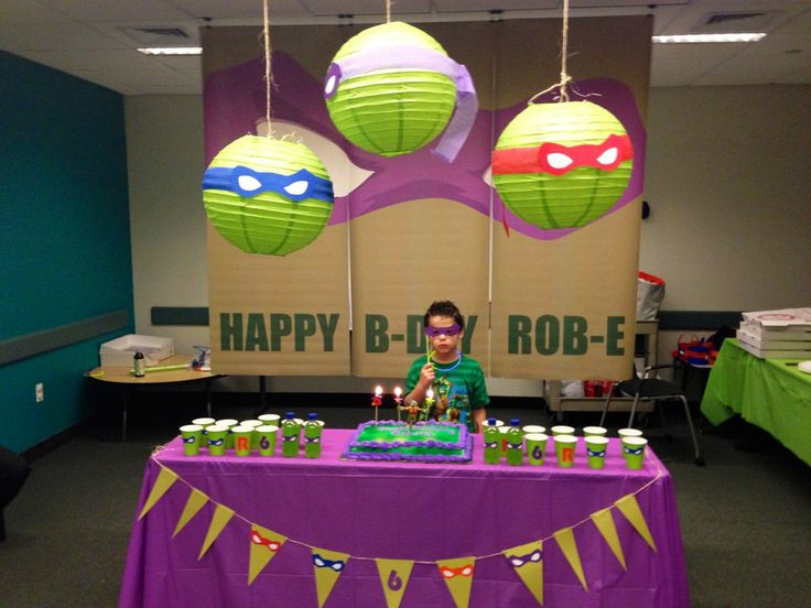 230 best tmnt-party ideas images on pinterest   ninja turtle party