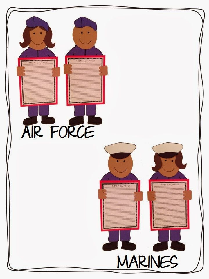 Veterans Day printable crafts for kids...perfect for school!