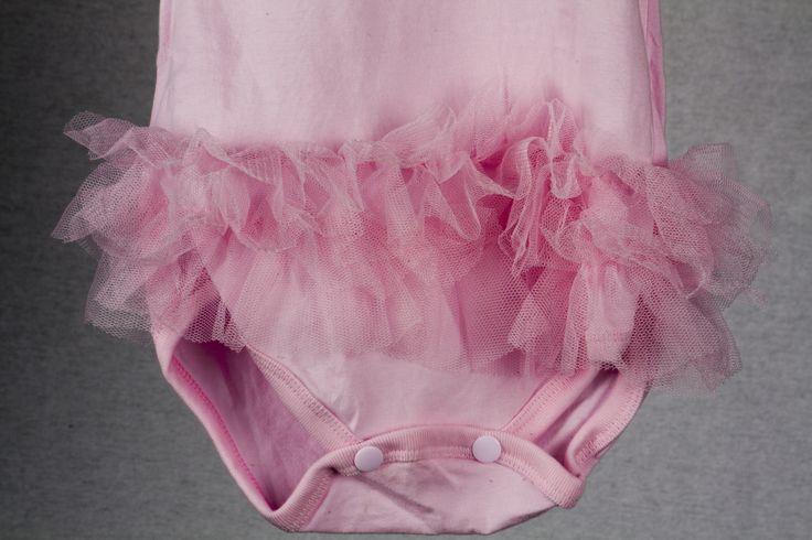 """Tutu at the bottom of a """"Princess"""" onesie found at teablossomkids.com"""