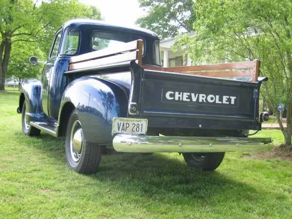 Nothin' like an old Chevy truck