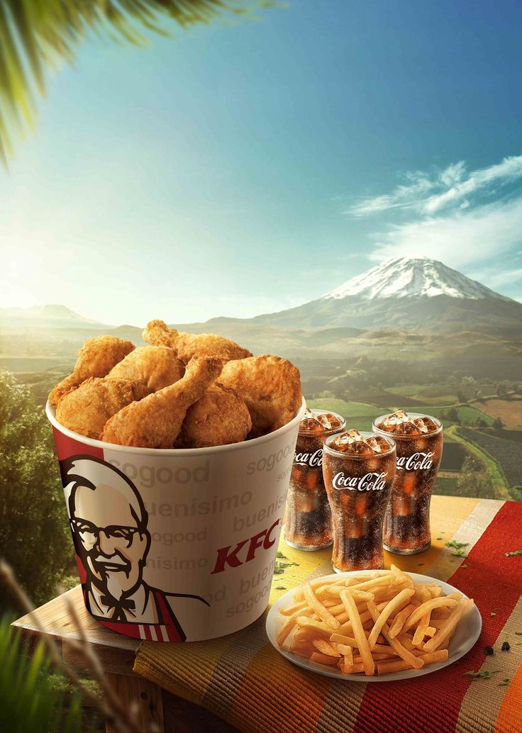 Pin by zongyuan on 排版 Kfc, Food drink photography