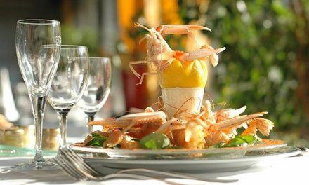 Gastronomie Normande au Jardin d'Hiver - Restaurant LE JARDIN D'HIVER de la Bertelière à Saint Martin Du Vivier