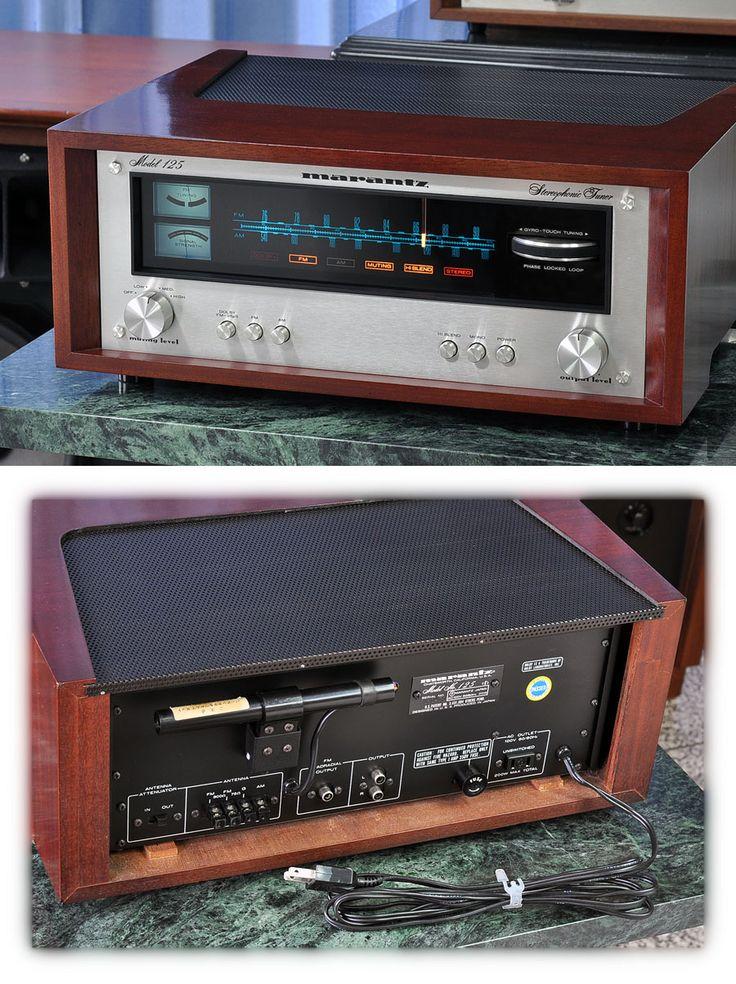 Marantz FM/AM тюнер Model 125