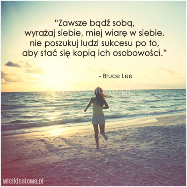 Zawsze bądź sobą, wyrażaj siebie…