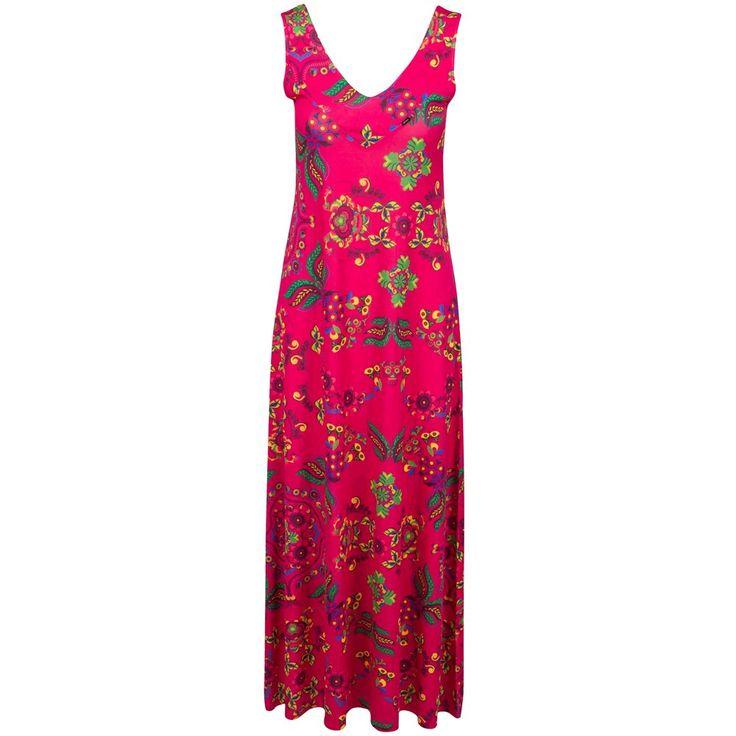 Långklänning Röd från Ruga - Maxiklänningar