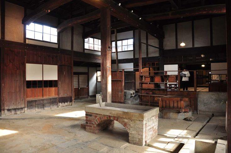 日本家屋 明治時代 - 土間