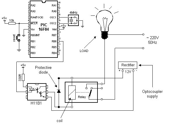 connecting-the-optocoupler-and-relay-to-a-microcontroller