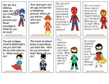 Super hero Social Skills! TPT