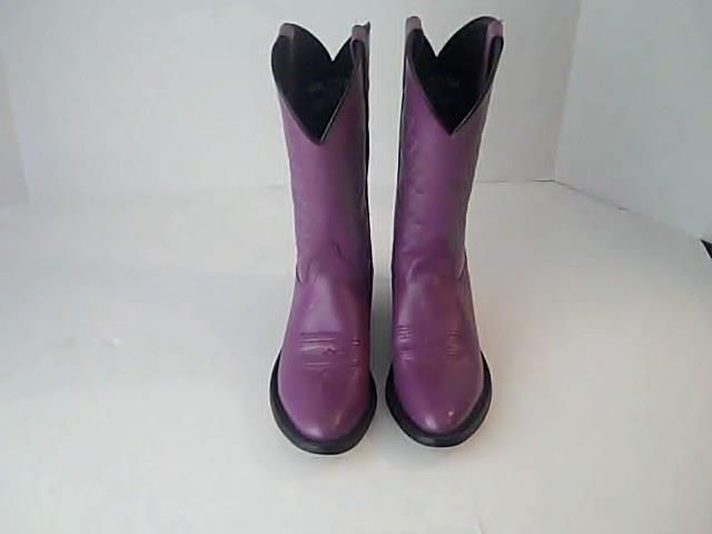 Women Western Cowgirl Boots Purple SCL 701 15 M 060 Leather Upper India #Unbranded #CowboyWestern #Casual