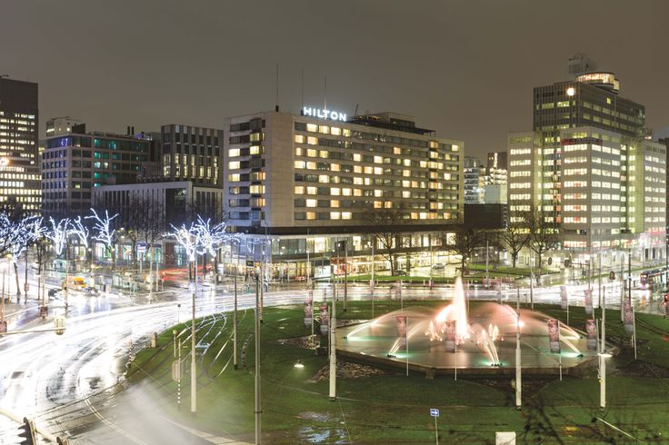 The exterior of the Hilton Rotterdam - By JFW Studie Photography